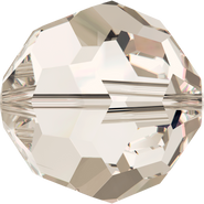 Swarovski Bead 5000 - 3mm, Crystal Silver Shade (001 SSHA), 720pcs
