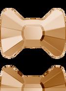 Swarovski Flat Back 2858 MM 9,0X 6,5 CRYSTAL GOL.SHADOW M HF(144pcs)