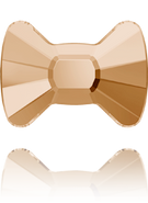 Swarovski Flat Back 2858 MM 12,0X 8,5 CRYSTAL GOL.SHADOW M HF(96pcs)