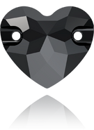 Swarovski Sew-on 3259 MM 12,0 JET(72pcs)