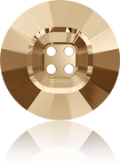 Swarovski 3018 MM 18,0 CRYSTAL GOL.SHADOW(24pcs)