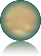 Swarovski 5860 MM 14,0 CRYSTAL IRIDESCENT GREEN PRL(50pcs)