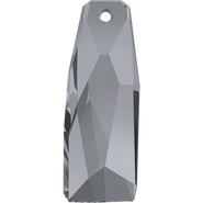 Swarovski Pendant 6019/G MM 35,0 CRYSTAL SILVNIGHT(8pcs)