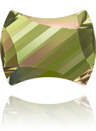 Swarovski 2540 MM 12,0X 9,5 CRYSTAL LUMINGREEN F(96pcs)