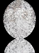 Swarovski Fancy Stone 4224 MM 14,0X 11,0 CRYSTAL SILVER-PAT F(72pcs)