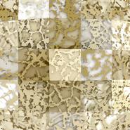 Swarovski 2493 MM 8,0 CRYSTAL GOLD-PAT F(216pcs)