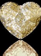 Swarovski Flat Back 2808 MM 14,0 CRYSTAL GOLD-PAT F(96pcs)