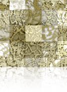 Swarovski 2493 MM 12,0 CRYSTAL GOLD-PAT M HF(96pcs)