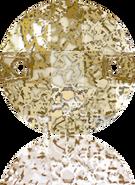 Swarovski Sew-on 3220 MM 10,0 CRYSTAL GOLD-PAT F(192pcs)
