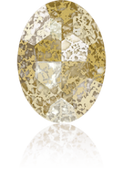 Swarovski Fancy Stone 4127 MM 30,0X 22,0 CRYSTAL GOLD-PAT F(24pcs)