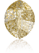 Swarovski Fancy Stone 4224 MM 14,0X 11,0 CRYSTAL GOLD-PAT F(72pcs)
