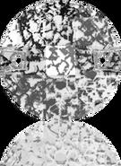 Swarovski Sew-on 3220 MM 10,0 CRYSTAL BLACK-PAT F(192pcs)