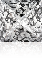 Swarovski Fancy Stone 4418 MM 8,0 CRYSTAL BLACK-PAT F(216pcs)
