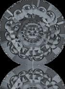Swarovski Round Stone 1681 MM 12,0 CRYSTAL SILVNIGHT F(72pcs)
