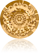Swarovski Round Stone 1681 MM 12,0 LIGHT COLORADO TOPAZ F(72pcs)