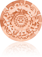 Swarovski Round Stone 1681 MM 12,0 LIGHT PEACH F(72pcs)