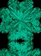 Swarovski Fancy Stone 4785 MM 14,0 EMERALD F(36pcs)