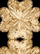 Swarovski Fancy Stone 4785 MM 14,0 CRYSTAL GOL.SHADOW F(36pcs)