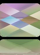 Swarovski Bead 5055 MM 10,0X 8,0 CRYSTAL PARADSH(72pcs)