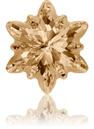 Swarovski Fancy Stone 4753/G MM 14,0 CRYSTAL GOL.SHADOW F(36pcs)