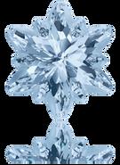 Swarovski Fancy Stone 4753/G MM 14,0 CRYSTAL BL.SHADE F(36pcs)