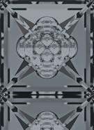 Swarovski Fancy Stone 4481 MM 16,0 CRYSTAL SILVNIGHT F(48pcs)