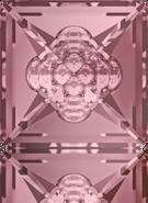 Swarovski Fancy Stone 4481 MM 16,0 CRYSTAL ANTIQUPINK F(48pcs)