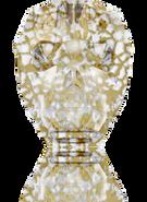 Swarovski 5750 MM 13,0 CRYSTAL GOLD-PAT(12pcs)