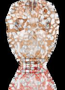 Swarovski 5750 MM 13,0 CRYSTAL ROSE-PAT(12pcs)