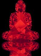 Swarovski Fancy Stone 4779 MM 18,0X 15,6 LIGHT SIAM F(48pcs)