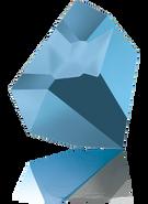 Swarovski Fancy Stone 4923 MM 38,0X 33,0 CRYSTAL MET.BLUE F(6pcs)