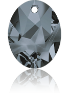 Swarovski Pendant 6911 MM 36,0 CRYSTAL SILVNIGHT(9pcs)