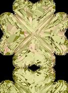 Swarovski Fancy Stone 4785 MM 14,0 CRYSTAL LUMINGREEN F(36pcs)