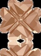 Swarovski Fancy Stone 4785 MM 14,0 CRYSTAL ROSE GOLD F(36pcs)