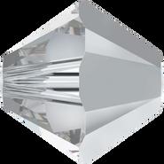 Swarovski Bead 5328 - 6mm, Crystal Comet Argent Light (001 CAL), 360pcs