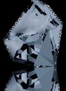 Swarovski Fancy Stone 4923 MM 28,0X 24,0 CRYSTAL SILVNIGHT(8pcs)