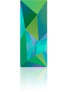 Swarovski Fancy Stone 4925 MM 29,0X 11,5 CRYSTAL SCARABGRE F(12pcs)