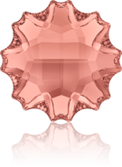 Swarovski Flat Back 2612 MM 10,0 BLUSH ROSE M HF(48pcs)