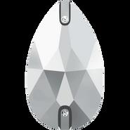 Swarovski 3230 MM 28,0X 17,0 CRYSTAL LTCHROME F(24pcs)
