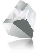 Swarovski Fancy Stone 4922 MM 28,0X 24,0 CRYSTAL LTCHROME F T1158(8pcs)