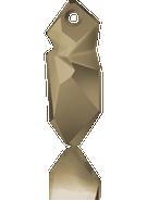 Swarovski Pendant 6913 MM 28,0 CRYSTAL METLGTGOLD(15pcs)