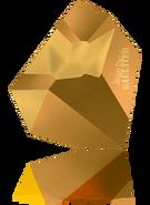 Swarovski Fancy Stone 4922 MM 38,0X 33,0 CRYSTAL DORADO F T1159(6pcs)