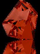 Swarovski Fancy Stone 4922 MM 38,0X 33,0 CRYSTAL RED MAGMA F T1159(6pcs)