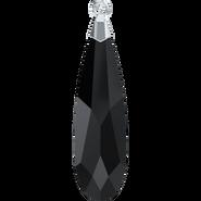 Swarovski 6533 MM 23,0 JET RHOD(24pcs)