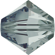 Swarovski Bead 5328 - 6mm, Black Diamond (215), 360pcs
