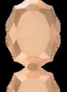 Swarovski 4142 MM 10,0X 8,0 CRYSTAL ROSE GOLD F(72pcs)