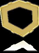 Swarovski 4933/S MM 27,0 1PH2OZ(8pcs)