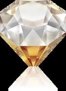 Swar Crystal/4928# 12m Copper Z F (2pcs)