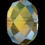Swarovski Bead 5040 - 6mm, Crystal Iridescent Green (001 IRIG), 360pcs