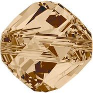 Swarovski Bead 5020 - 6mm, Crystal Golden Shadow (001 GSHA), 360pcs